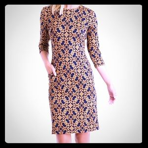 J. McLaughlin Catalyst Dress: Devon Scroll